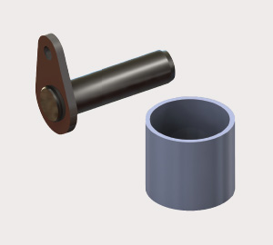 ECH 4-in-1 Bucket Parts - Replacement Pins, Bushes and Seals