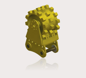 ECH Compaction Wheels - Drum Compaction Wheel